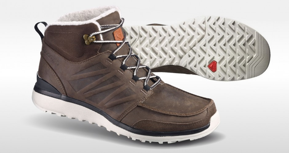 Work boot inspired for winter conditions